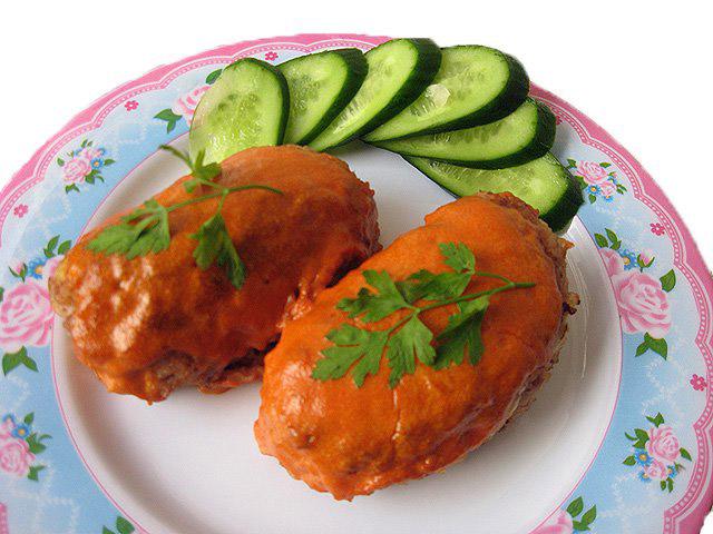 Что приготовить из курицы с апельсинами в духовке
