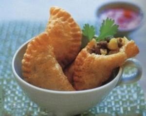 Жареные пирожки с картофельно-мясной начинкой фото | Жареные пирожки с картофельно-мясной начинкой