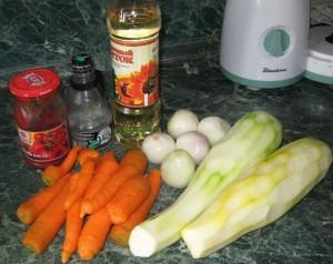 Ингредиенты для приготовления кабачковой икры фото | Ингредиенты для приготовления кабачковой икры