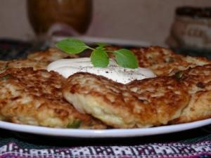 Кабачково-картофельные драники фото | Кабачково-картофельные драники