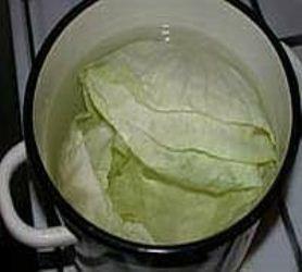 Подготавливаем капустные листья фото | Подготавливаем капустные листья