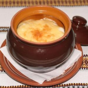 Вареники с картошкой и грибами, запеченные с сыром фото
