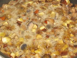 Жарим отваренные грибы фото | Жарим отваренные грибы