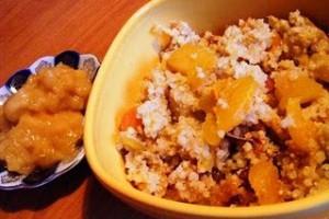Тыквенная каша с апельсином и пшеном фото | Тыквенная каша с апельсином и пшеном
