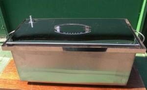 Вот так выглядит домашняя коптилка для горячего копчения фото | Вот так выглядит домашняя коптилка для горячего копчения