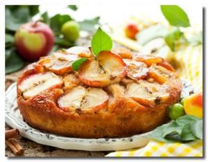 «Бабушкина» шарлотка с яблоками фото | «Бабушкина» шарлотка с яблоками