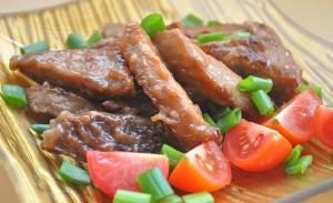 Аппетитная жареная свинина в соевом соусе фото | Аппетитная жареная свинина в соевом соусе