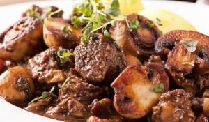 Жареная свинина с грибами фото | Жареная свинина с грибами