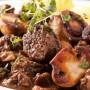 Жареная свинина с грибами фото